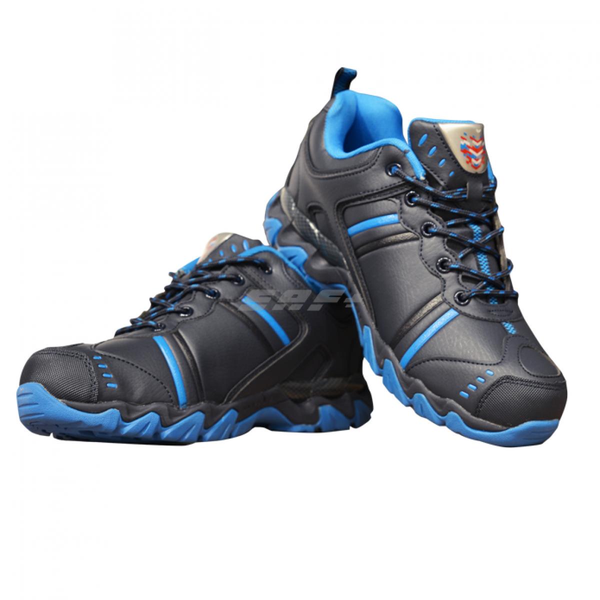 Кроссовки зимние FF 162 черно-синие