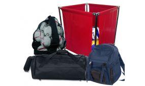Сумки, баулы, рюкзаки, чехлы, корзины для мячей