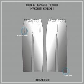 КАРПАТЫ-ДЬЮСПО ЭКОНОМ брюки ( СУБЛИМАЦИЯ)