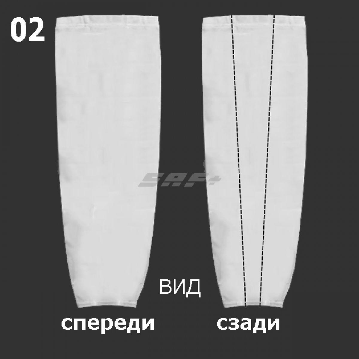 ГАМАШИ-02 хоккейные простые (СУБЛИМАЦИЯ)
