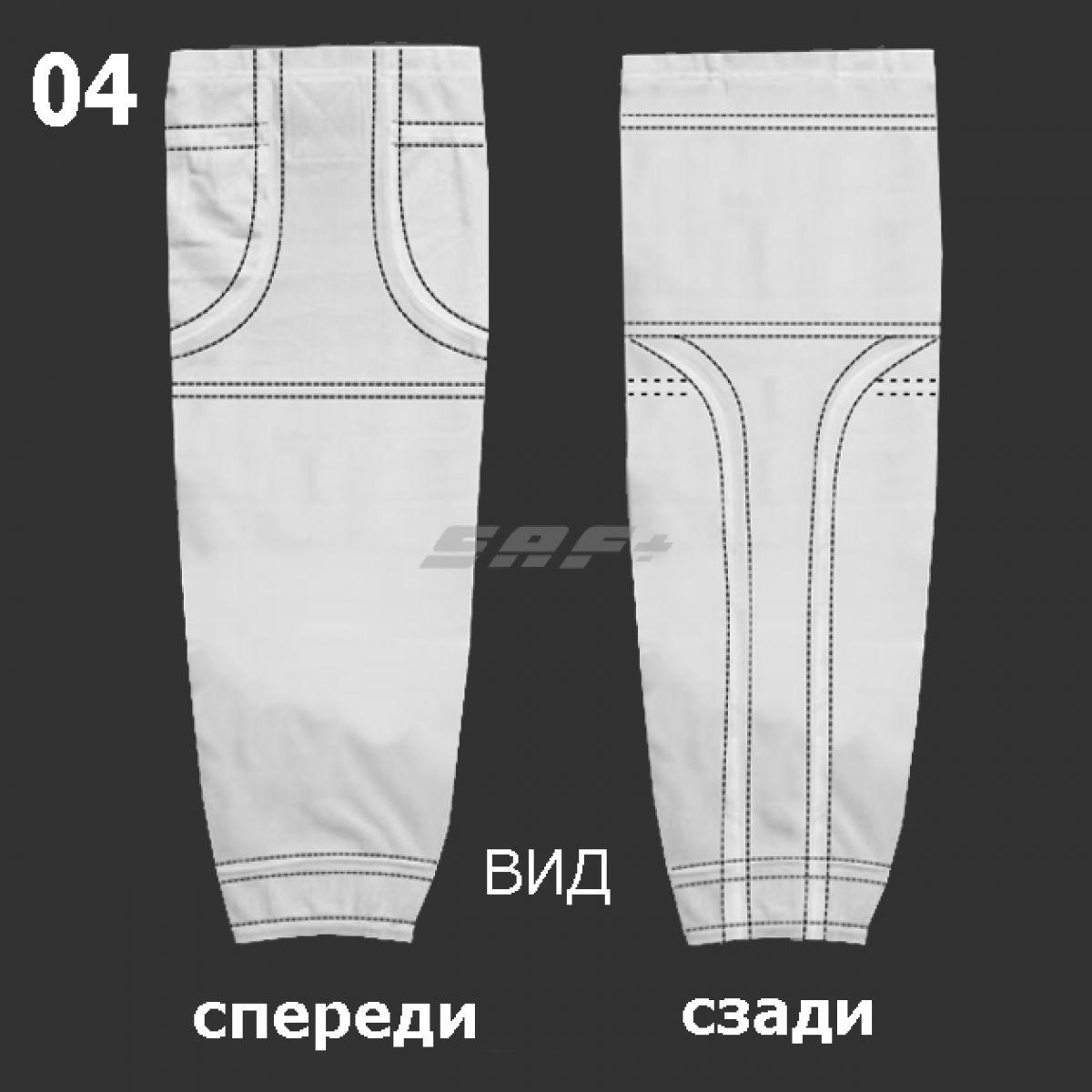 ГАМАШИ-04 хоккейные анатомические (СУБЛИМАЦИЯ)
