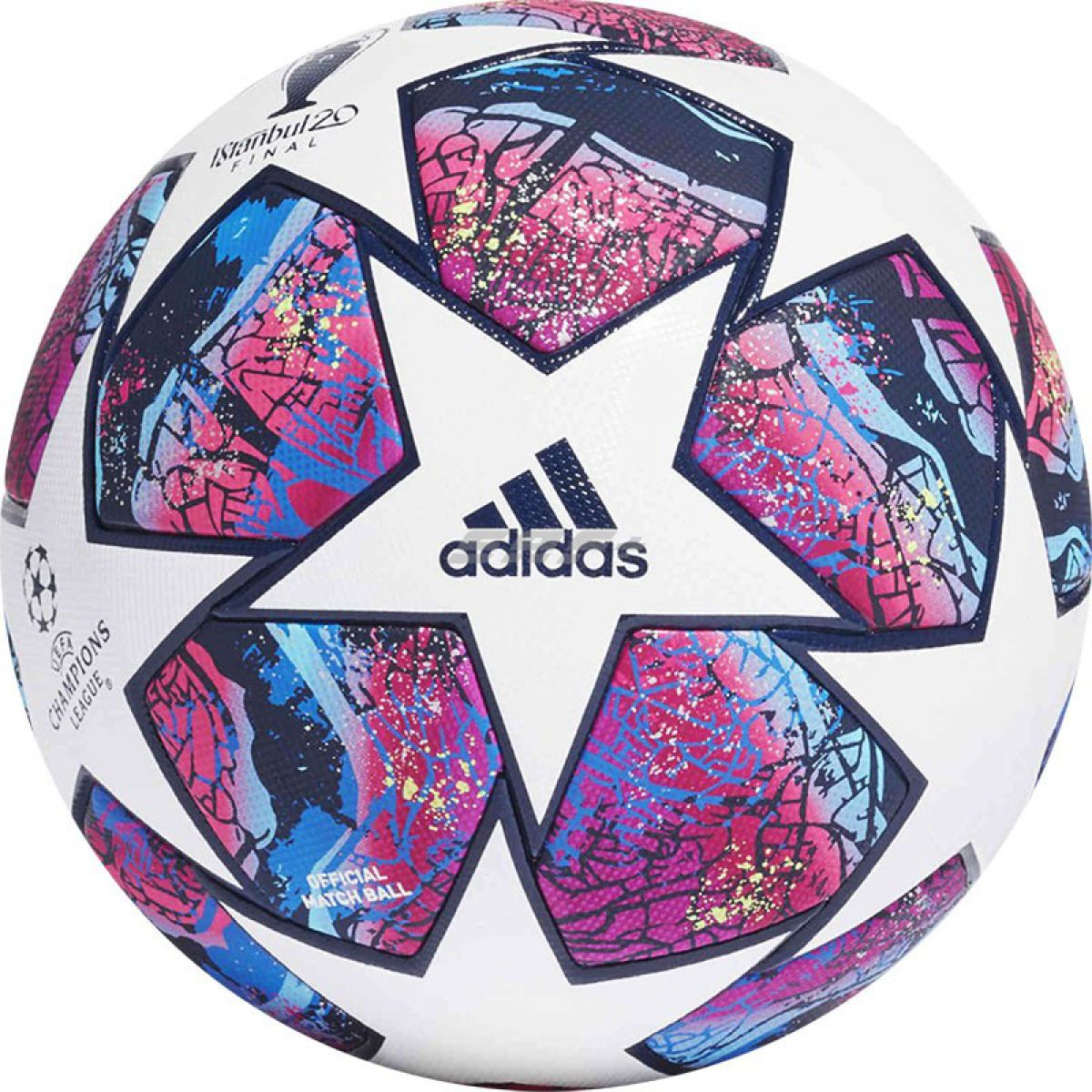 Мяч футбольный ADIDAS Finale 20 ISTANBUL PRO