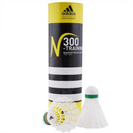 Воланы для бадминтона Adidas N300 Training-Slow