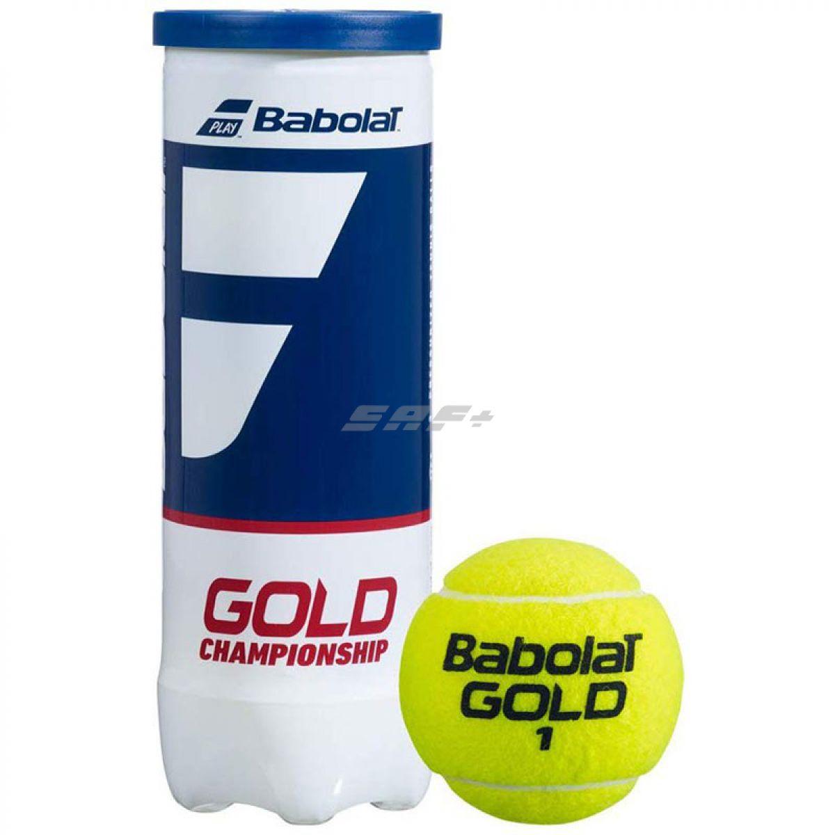 Мяч теннисный BABOLAT Gold  Championship 3B