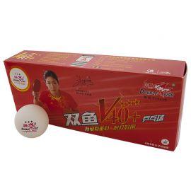Мяч для настольного тенниса Double Fish 3*** 40+