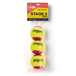 Мяч теннисный Dunlop Stage 3 (RED) 3B