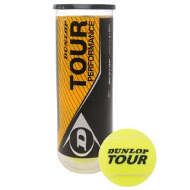 Мяч теннисный Dunlop Tour Performance 3B