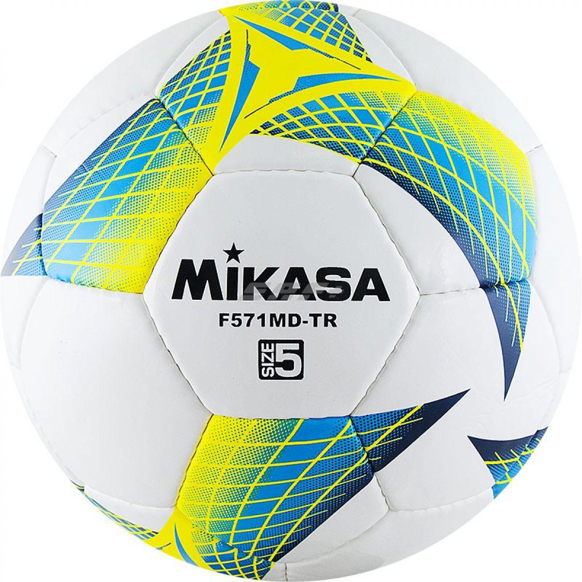 Мяч футбольный MIKASA F571MD-TR-B
