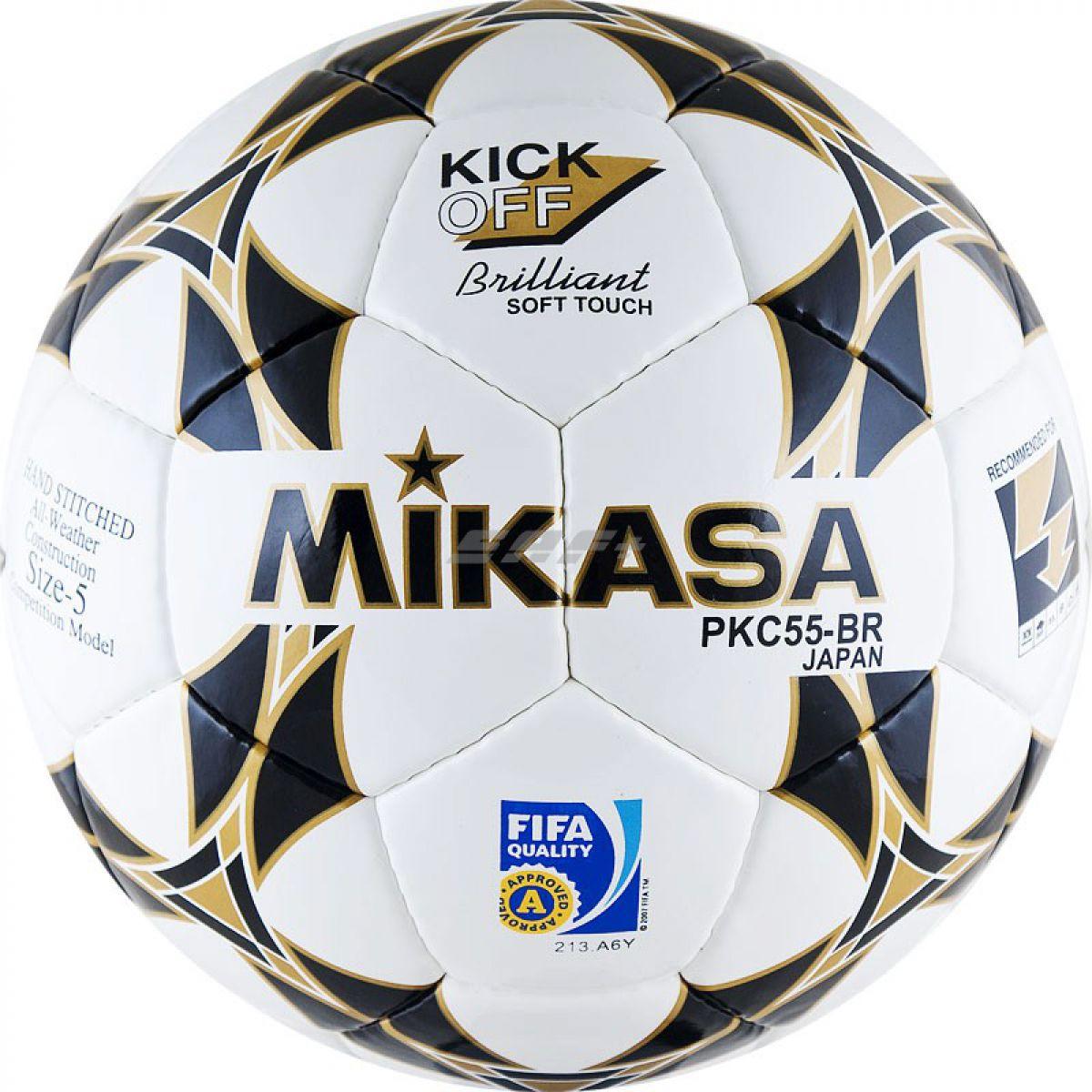 Мяч футбольный MIKASA PKC55BR-1