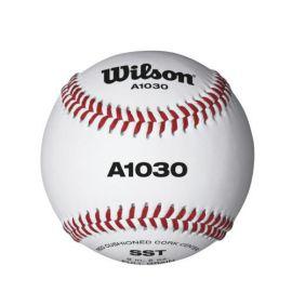 Мяч для бейсбола Wilson Championship, арт.WTA1030B, нат.кожа, пробк.сердцевина, белый
