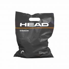 Мяч теннисный HEAD Coach,арт.578330, уп.72 шт, сукно, нат.резина, желтый