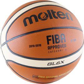 Мяч баскетбольный Molten BGL6X