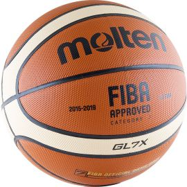 Мяч баскетбольный Molten BGL7X-RFB
