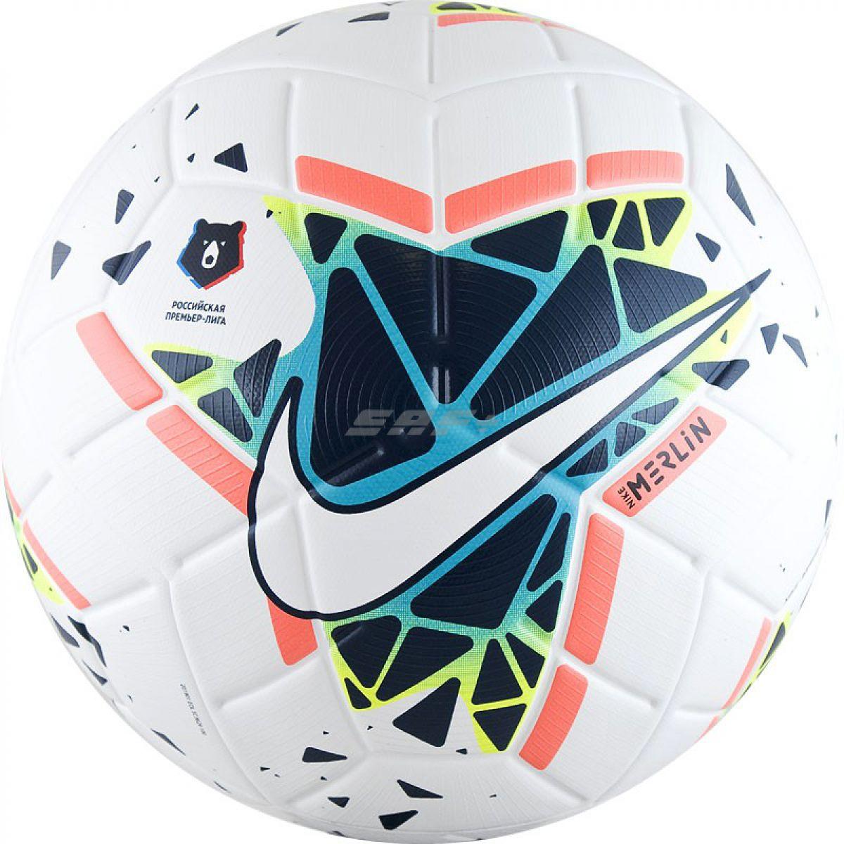Мяч футбольный NIKE Merlin РПЛ