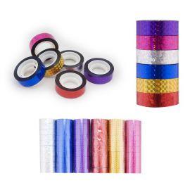 Обмотка для гимнастического обруча, ширина 1,5см, фиолетовый