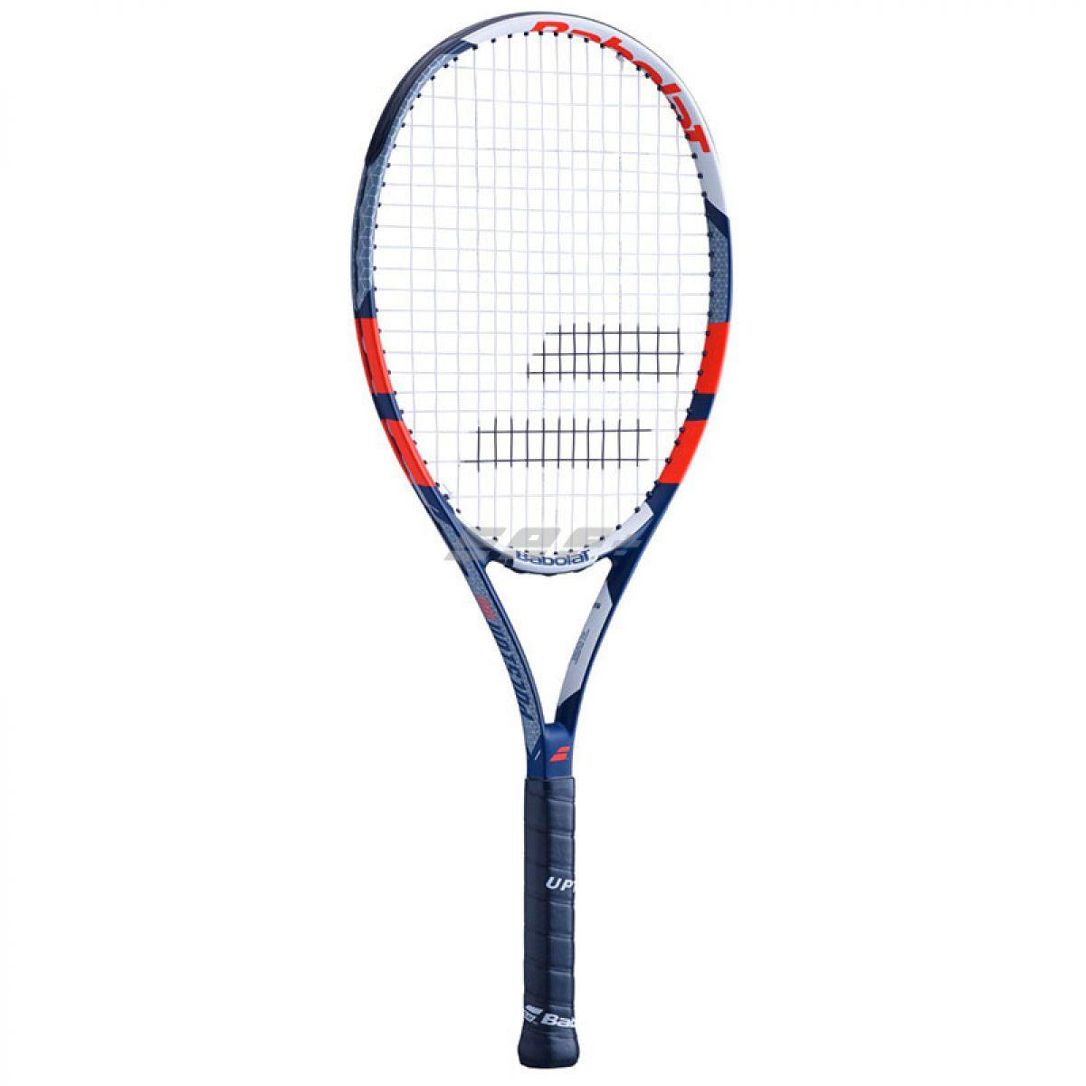 Ракетка теннисная Ракетка б/т BABOLAT Pulsion 105 Gr2, арт.121200-305, для любит., композит,со струн.,темносине-белый