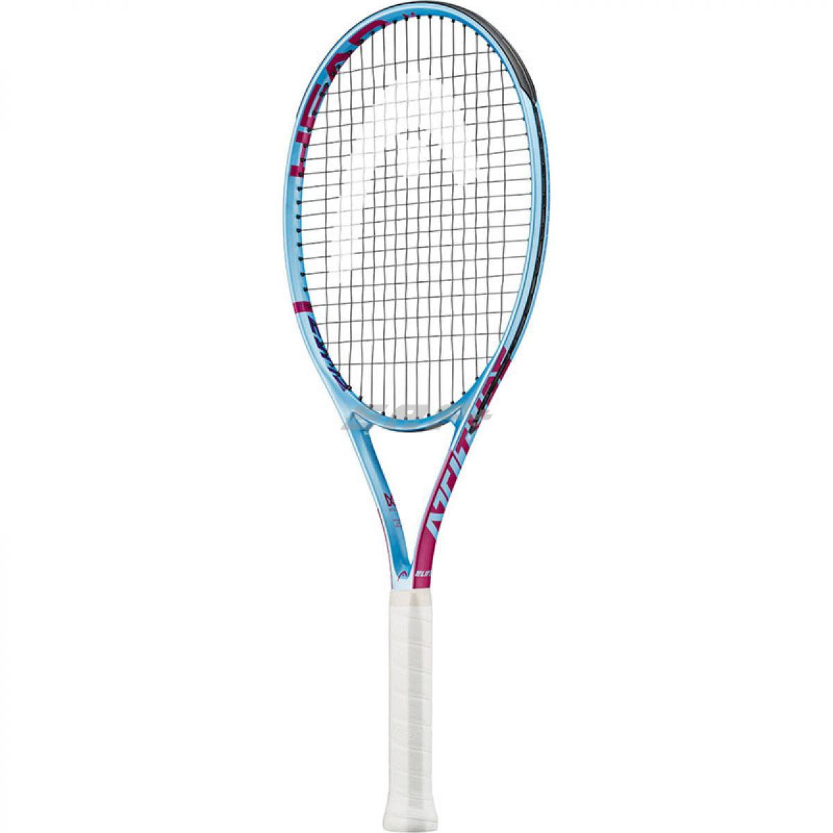 Ракетка теннисная Ракетка б/т HEAD MX Attitude Elit Gr2, арт.232029, для любителей, композит,со струнами, голубой