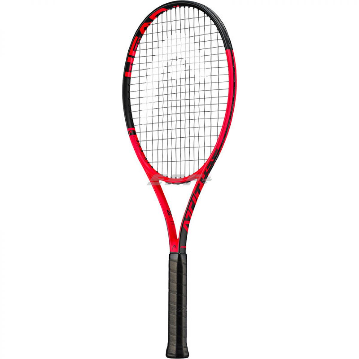 Ракетка теннисная Ракетка б/т HEAD MX Attitude Pro Gr3, арт.232019, для любителей, композит,со струнами, красн-черн