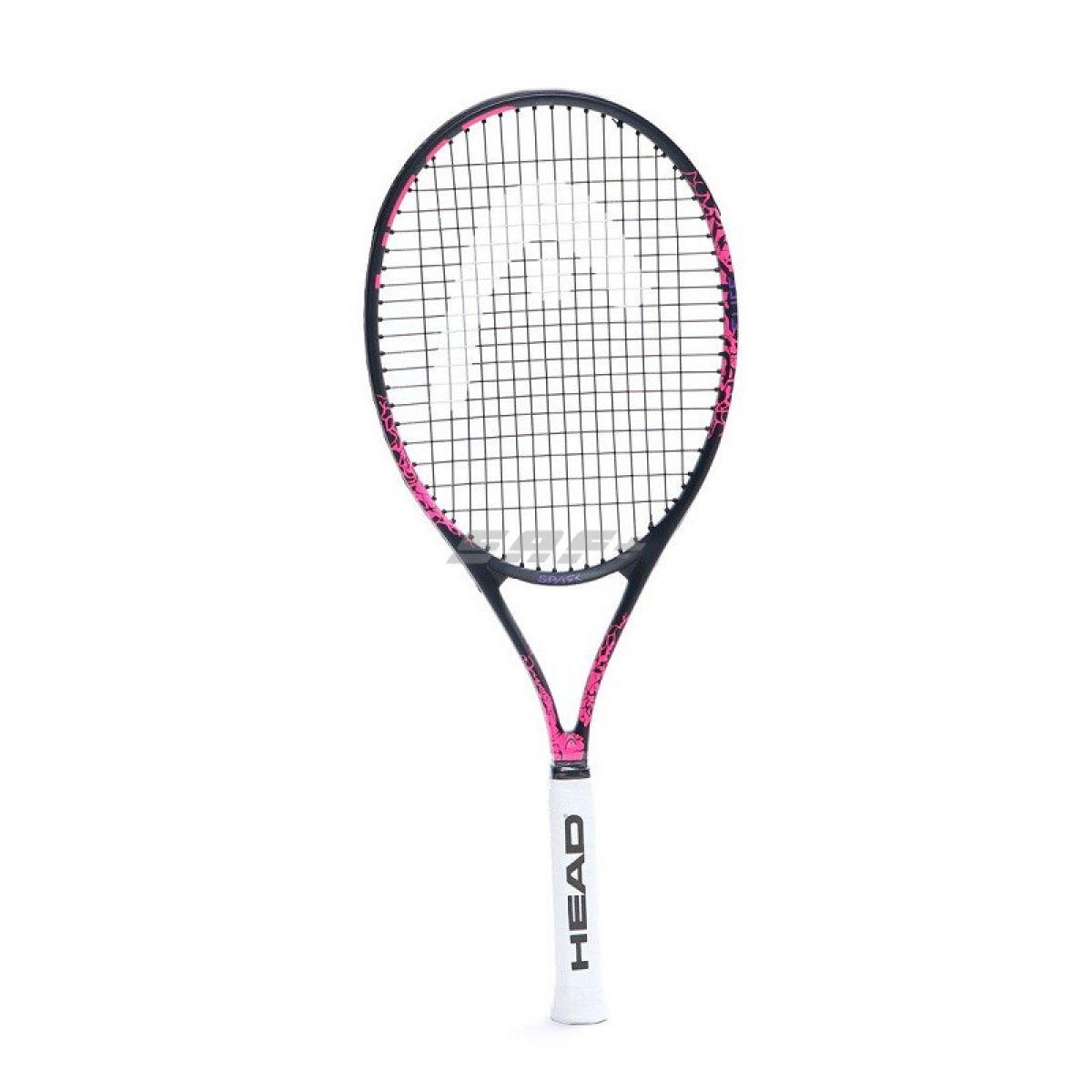 Ракетка теннисная Ракетка б/т HEAD MX Spark Elite Gr3, арт.233340, для любителей, композит,со струнами,черно-розовый