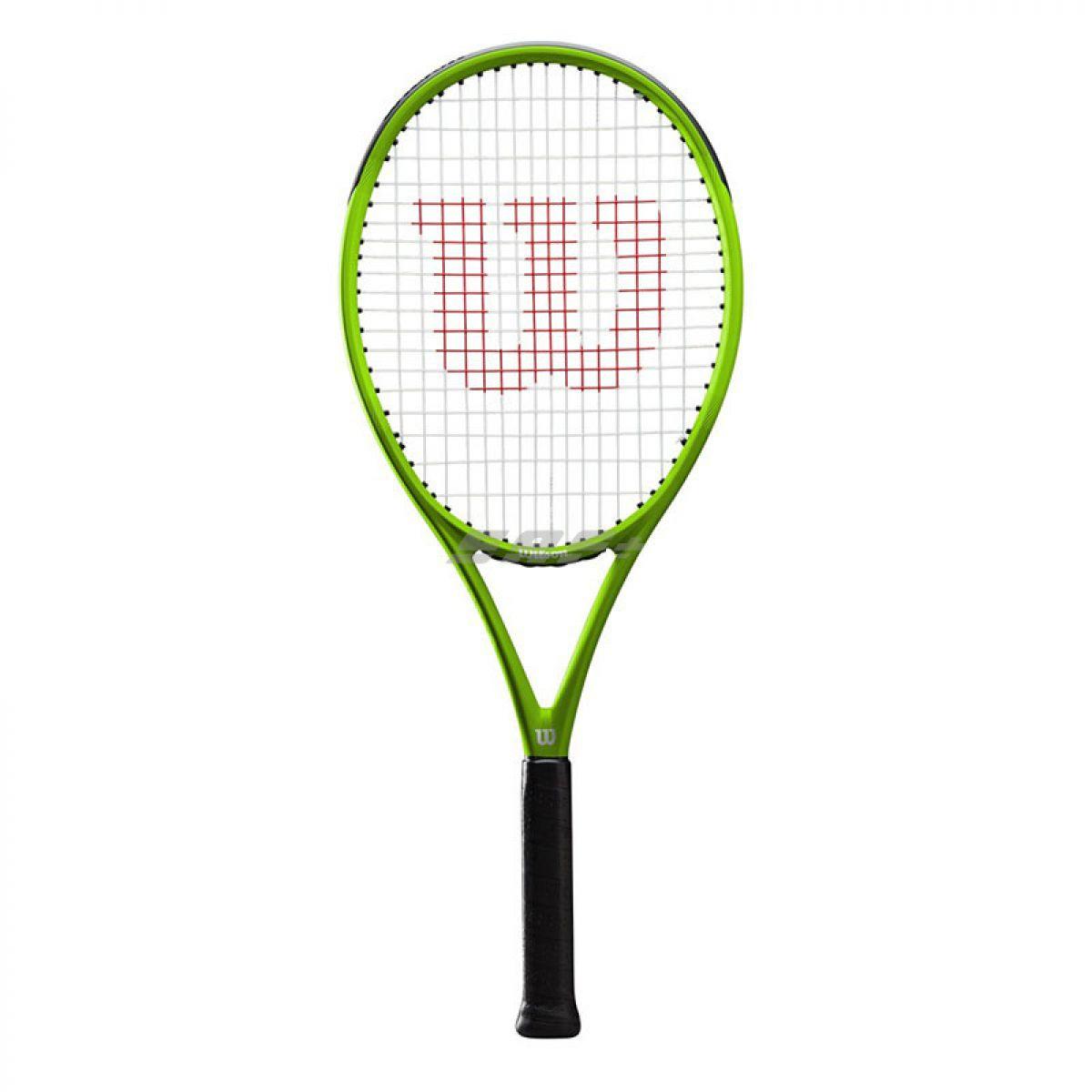 Ракетка теннисная Ракетка б/т Wilson Blade Feel Pro, артWR018810U3, для любителей, со струнами, зеленый