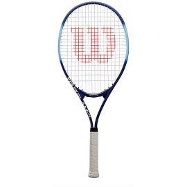 Ракетка б/т Wilson Tour Slam Lite Gr2, арт.WRT30210U2,для любит, алюминий, со струнами, сине-голубая
