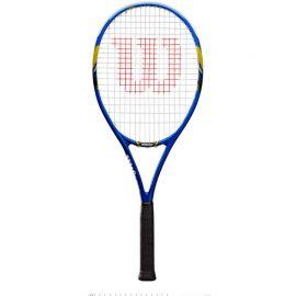 Ракетка б/т Wilson US Open Gr3, арт.WRT30560U3, для любит., графит, со струн., сине-черно-желтый