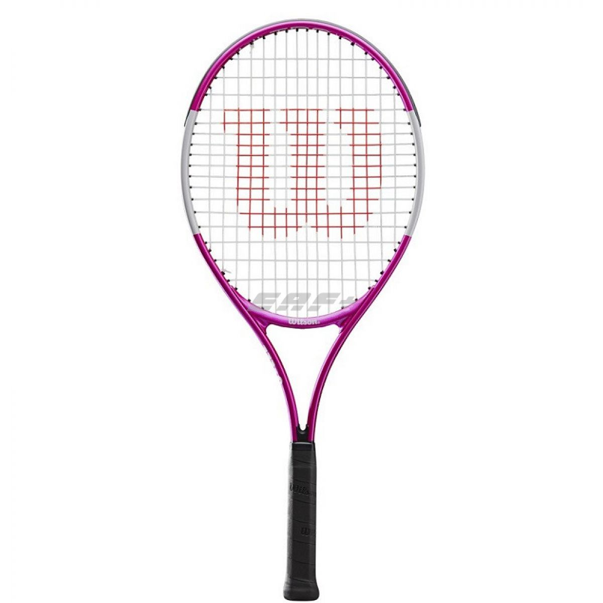 Ракетка теннисная Ракетка б/т Wilson Ultra Pink25 GR00, арт.WR027810U, для 9-10 лет, алюминий,со струнами,роз-бел-черн