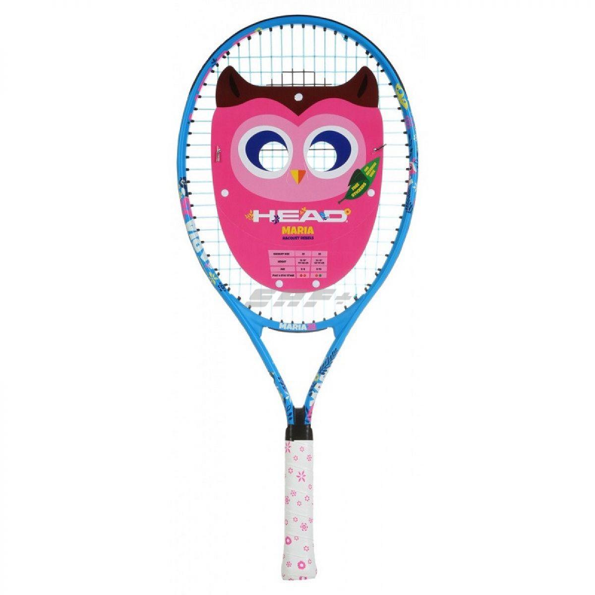 Ракетка теннисная Ракетка б/т дет. HEAD Maria 23 Gr06, арт.233410, для 6-8 лет, алюминий, со струнами, сине-бело-розов