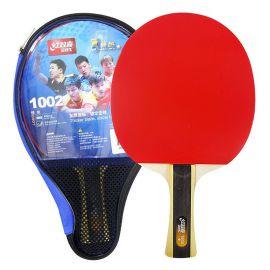 Ракетка для настольного тенниса Ракетка для н/т DHS T1002, 1* звезда, для начинающих игроков, накладка 1,8 мм, кон. ручка