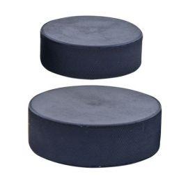 Шайба хоккейная малая, арт.MR-XS60, диам. 60 мм, выс. 20 мм, вес 90 гр, РОССИЯ, черная