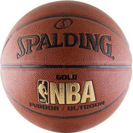 Мяч баскетбольный Spalding NBA Gold Series Indoor/Outdoor