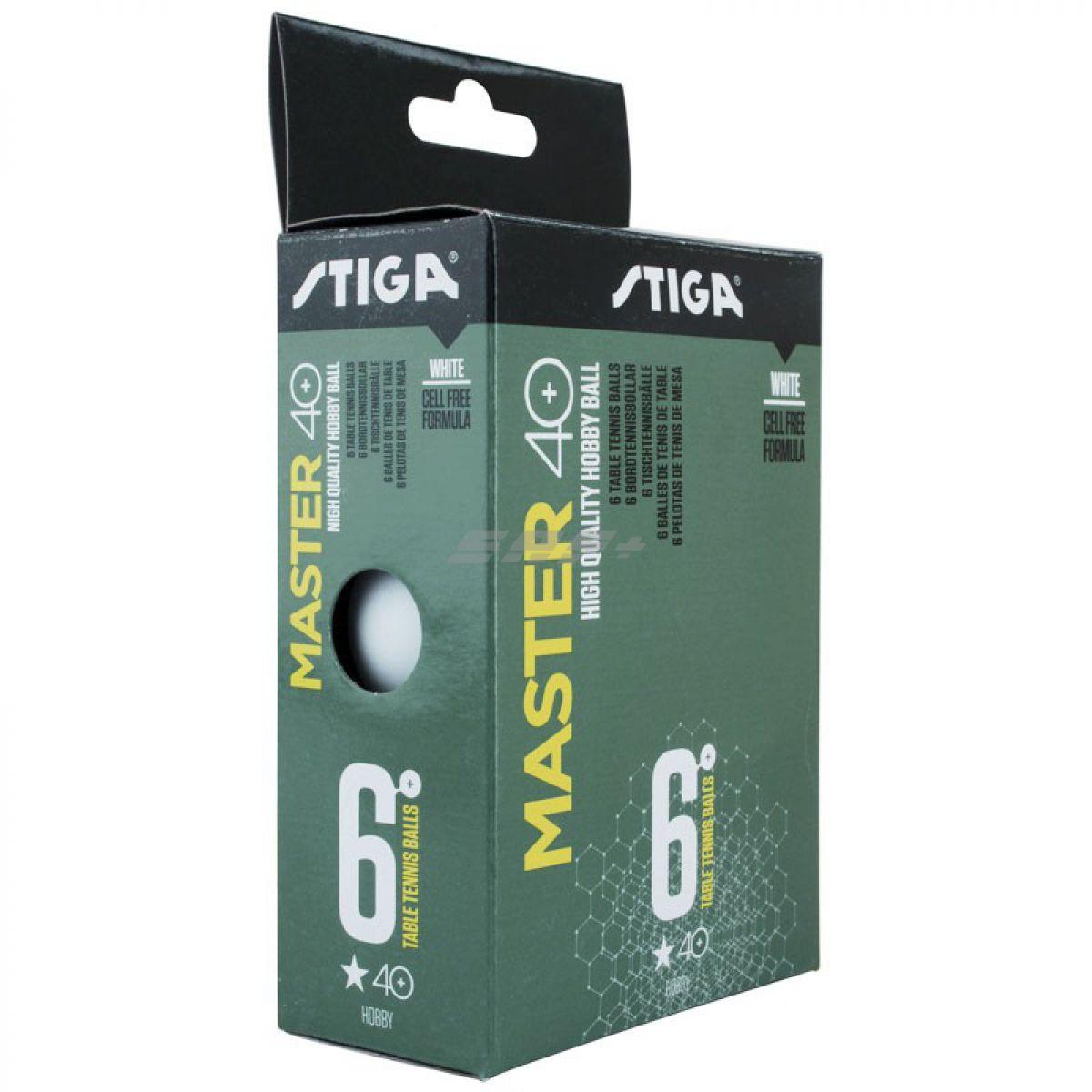 Мяч для настольного тенниса Stiga Master ABS 1*
