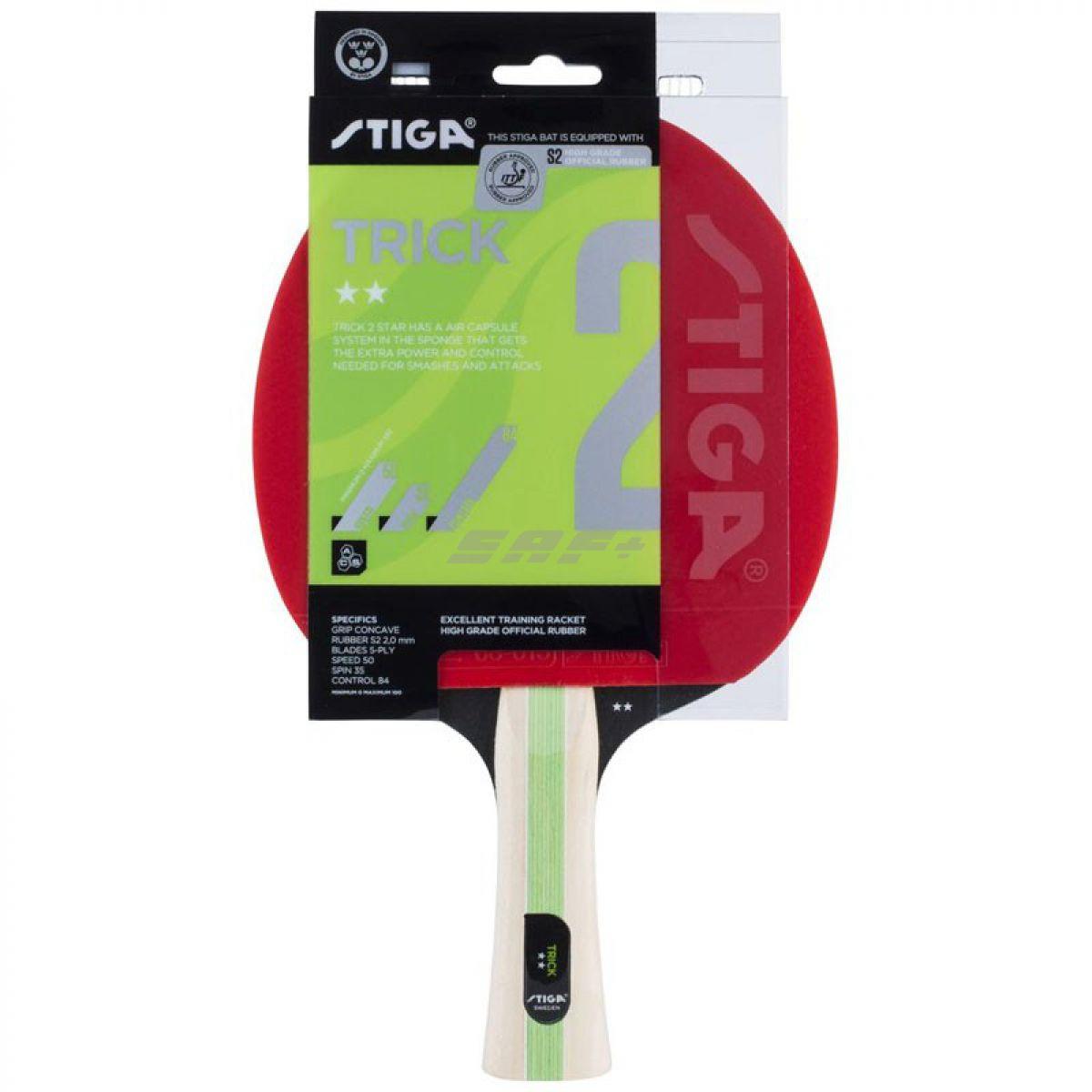 Ракетка для настольного тенниса Stiga Trick ASC 2**