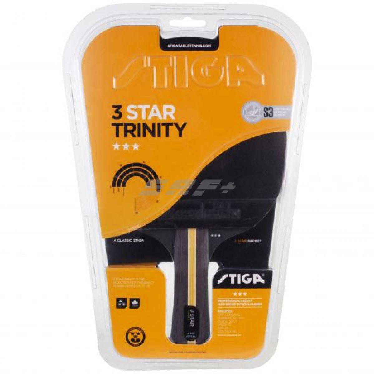 Ракетка для настольного тенниса Stiga Trinity WRB 3***