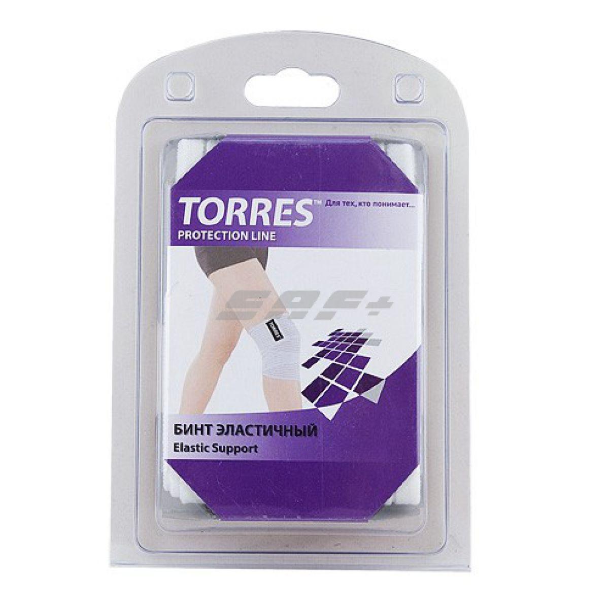 TORRES Бинт эластичный на ногу