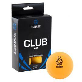 Мяч для настольного тенниса TORRES Club 2*