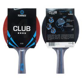 Ракетка для настольного тенниса TORRES Club 4*