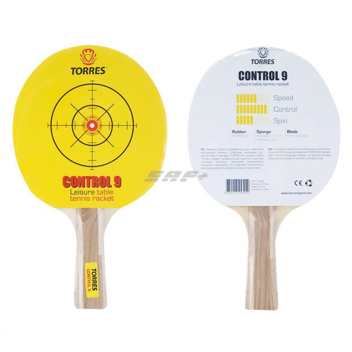 Ракетка для настольного тенниса TORRES Control 9