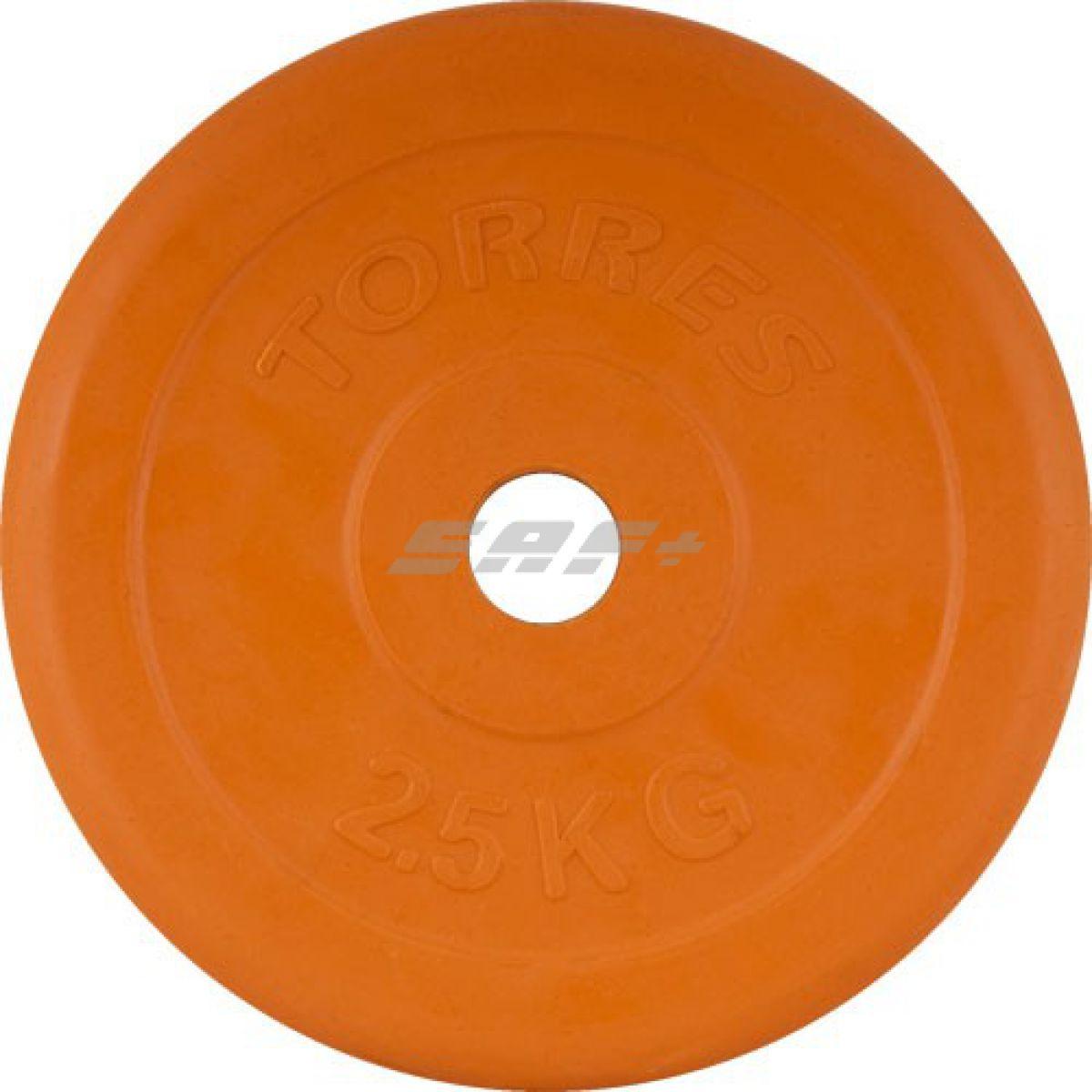 TORRES Диск обрезиненный 2,5 кг