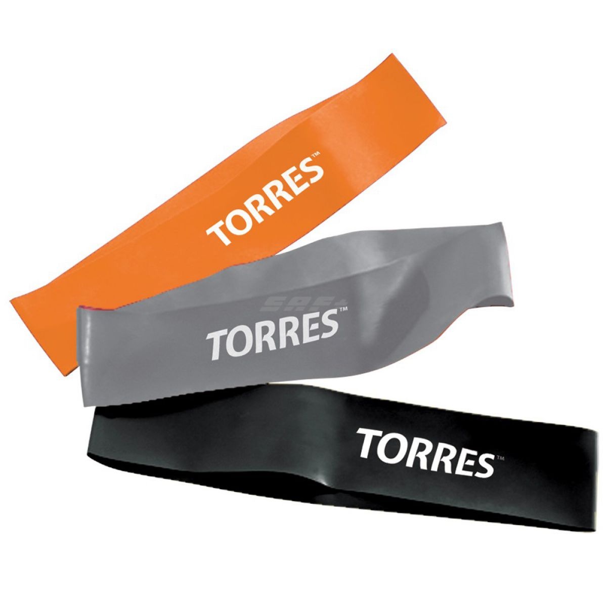 TORRES Эспандер набор латексных жгутов