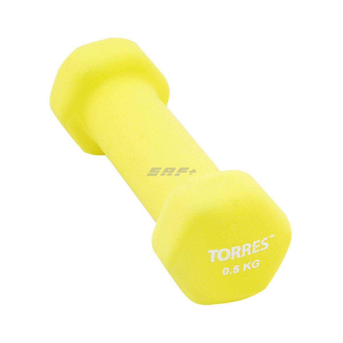 TORRES Гантель 0,5 кг