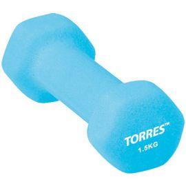 TORRES Гантель 1.5 кг