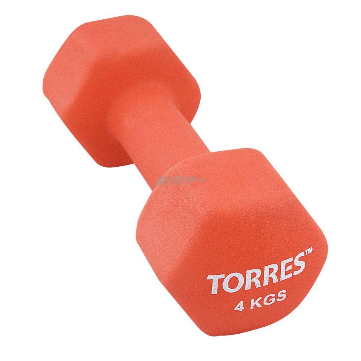 TORRES Гантель 4 кг