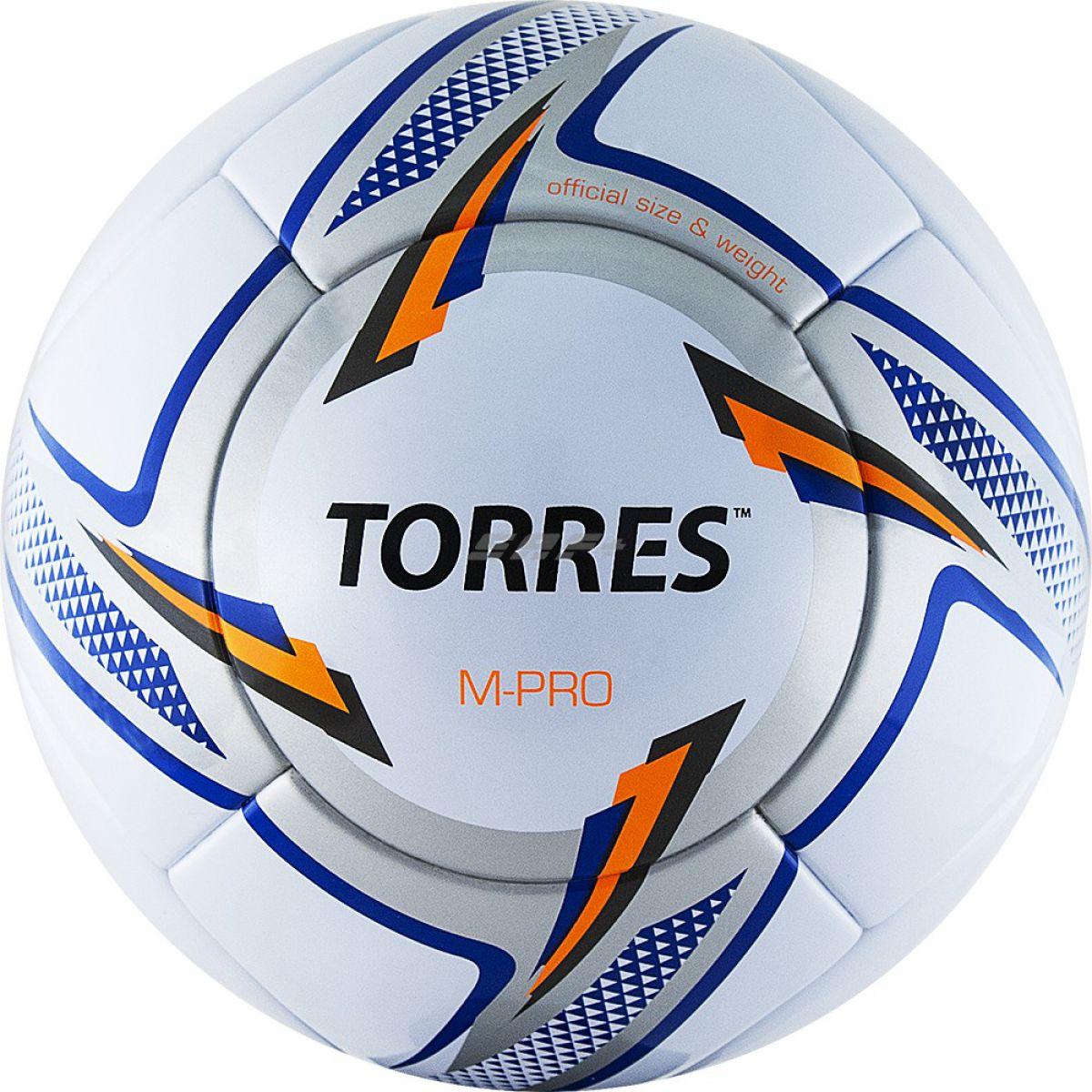 Мяч футбольный TORRES M-Pro White