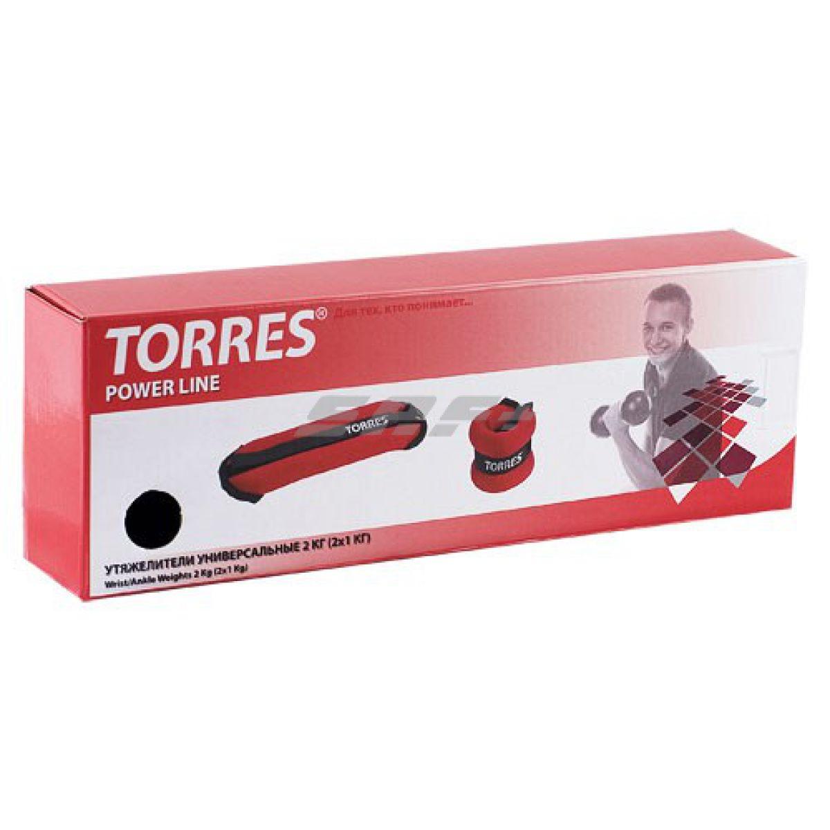 TORRES Утяжелители универсальные 2 кг
