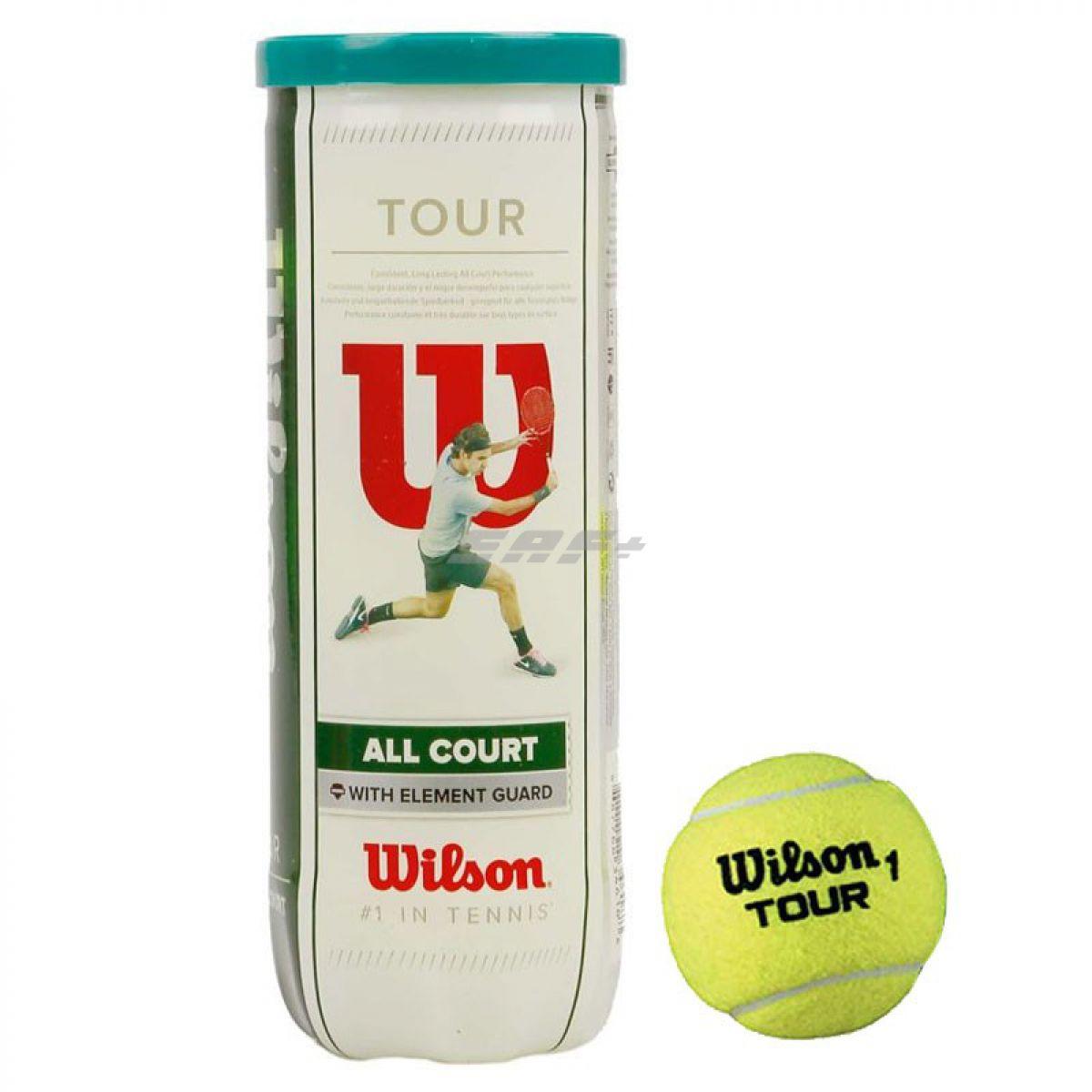 Мяч теннисный WILSON All Court 3B