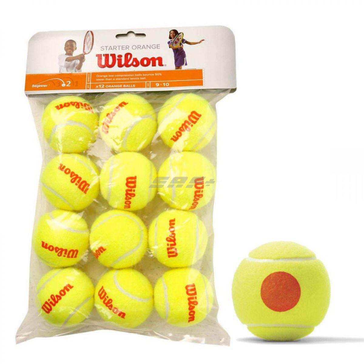 Мяч теннисный WILSON Starter Orange