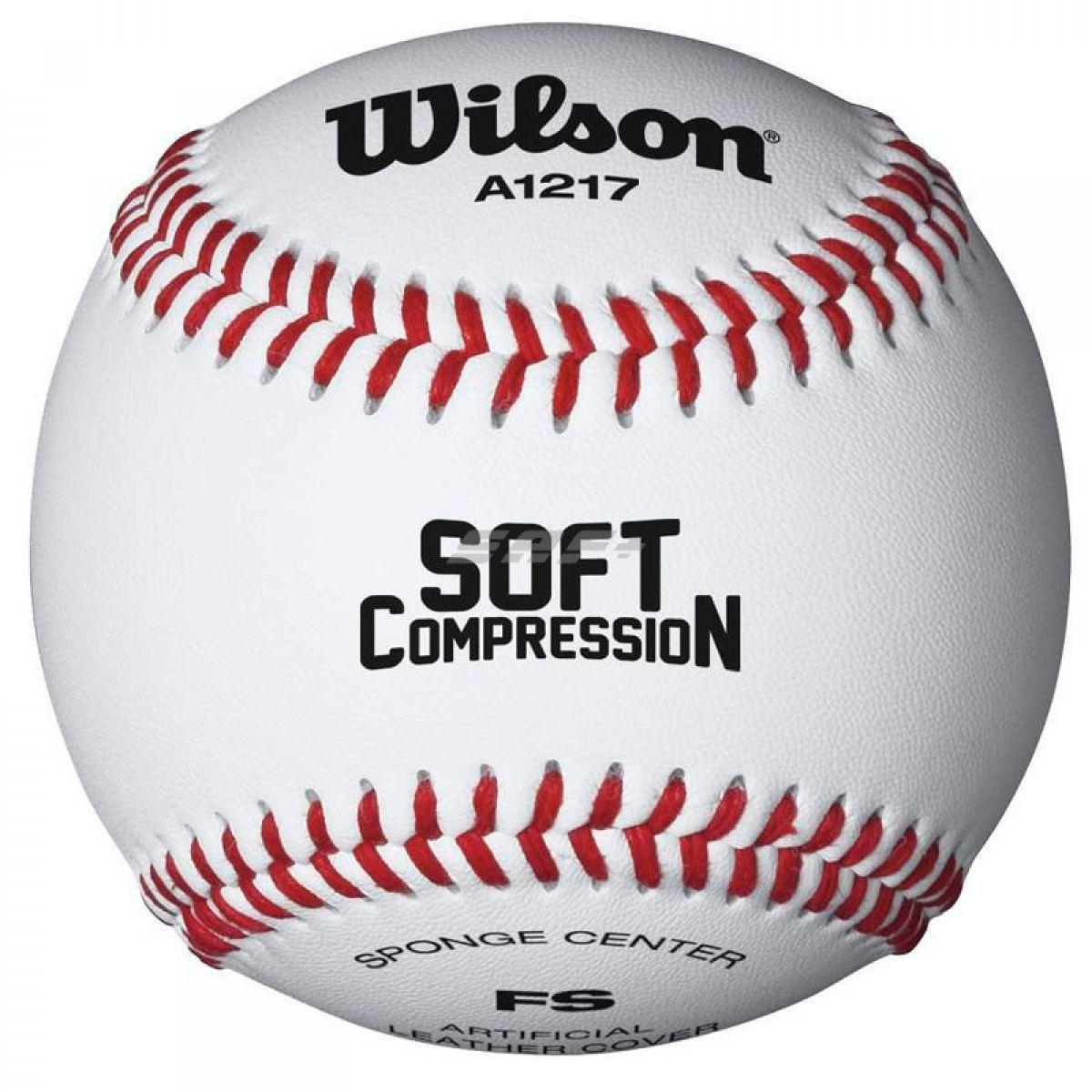 Мяч бейсбольный Wilson Soft Compression