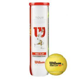 Мяч теннисный Wilson Tour Clay Red