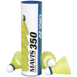 Воланы для бадминтона Yonex, Mavis 350 Yellow-Middle
